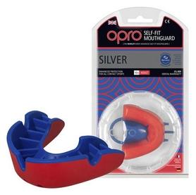Капа Opro Silver, красная (002189005)