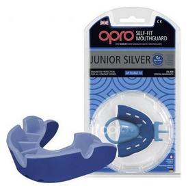 Капа Opro Junior Silver, синяя (002190002)