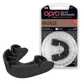Капа Opro Bronze, черная (002184001)