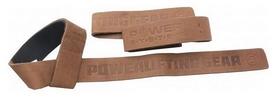 Лямки для тяги кожанные Power System Leather Straps, 2 шт (PS-3320)