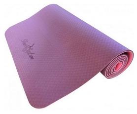 Коврик для йоги (йога-мат) Power System Fitness - фиолетовый, 6 мм (PS-4056_Purple)
