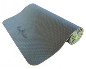 Коврик для йоги (йога-мат) Power System Fitness - зеленый, 6 мм (PS-4056_Green)