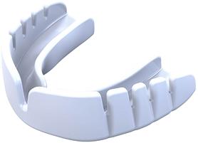 Капа Opro Snap-Fit Junior, белая (002143010)