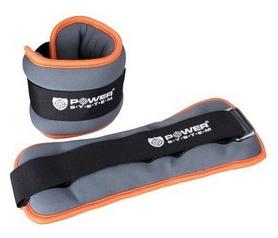 Утяжелители для ног Power System PS-4072 - серые, 2 шт по 1,5 кг (PS-4072_Grey)