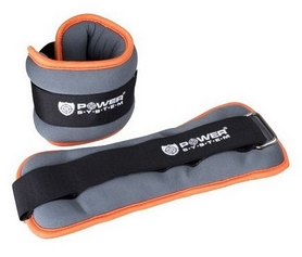 Утяжелители для ног Power System PS-4073 - серые, 2 шт по 2 кг (PS-4073_Grey)