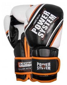 Перчатки боксерские Power System Contender - оранжевые (PS-5006_Black/Orange)