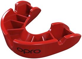 Капа Opro Junior Bronze, красная (002185005)