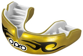 Капа Opro Power Fit Bling-Urban, золотой (PF_Bling-Urban_Gold/White)