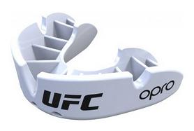 Капа Opro Bronze UFC Hologram, белая (002258002)