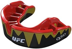 Капа Opro Platinum UFC Hologram, черная (002261002)