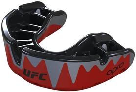 Капа Opro Platinum UFC Hologram, красная (UFC_Platinum_Red)
