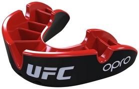Капа Opro Silver UFC Hologram, черно-красная (002259002)
