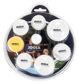 Набор мячей для настольного тенниса Joola Multisize Ball Set 42145J - 7 шт (4002560421451)