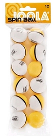 Набор мячей для настольного тенниса Joola Spinnball 2-color 42185J - 12 шт (4002560421857)