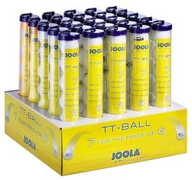 Набор мячей для настольного тенниса Joola Balldisplay Train Mix W/O 44200J - 7 шт (4002560442005)