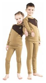 Комплект термобелья детского Catch Joy, коричневый (Joy-CY)