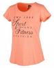 Футболка женская CMP Girl Stretch Set 3D84476-B679, оранжевый