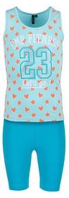 Костюм спортивный детский CMP Girl Stretch Set 3D85575-L209 anice