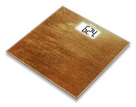 Весы стеклянные Beurer GS 203 Slate, коричневые