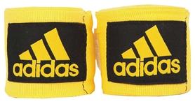 Бинты боксерские Adidas 57 мм - желтые, 3,5 м (AB57-Y-355)