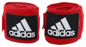 Бинты боксерские Adidas 57 мм - красные, 4,5 м (AB57-R-455)
