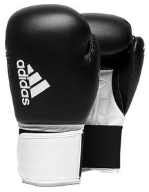 Перчатки боксерские Adidas Hybrid 100, белые (Adi-Hyb100-BW)