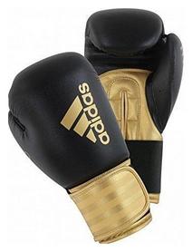Перчатки боксерские Adidas Hybrid 100, золотые (Adi-Hyb100-BG)