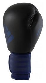 Перчатки боксерские Adidas Hybrid 100, синие (Adi-Hyb100-BV)