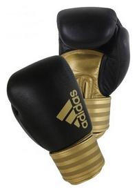 Перчатки боксерские Adidas Hybrid 200, золотые (Adi-Hyb200-BG)