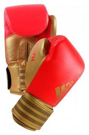 Перчатки боксерские Adidas Hybrid 200, красные (Adi-Hyb200-GB)