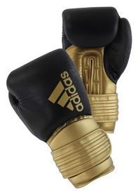 Перчатки боксерские Adidas Hybrid 300, золотые (Adi-Hyb300-GR)