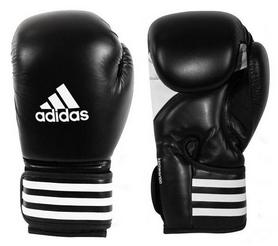Распродажа*! Перчатки боксерские Adidas КPower 100 (Adi-KPwr100-BLK) - 10 Oz