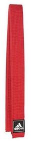 Пояс для тхэквондо Adidas - красный, 340 см (Adi-TB-R)