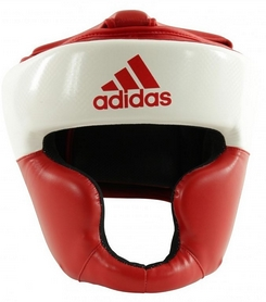 Шлем боксерский Adidas Response Standard, красно-белый (Adi-ResSTD-RW)
