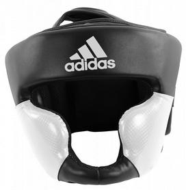 Шлем боксерский Adidas Response Standard, черно-белый (Adi-ResSTD-BW)