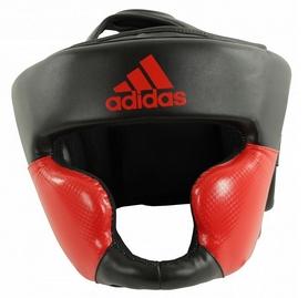Шлем боксерский Adidas Response Standard, черно-красный (Adi-ResSTD-BR)