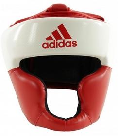 Шлем боксерский  Adidas Response, бело-красный (Adi-Res-WR)