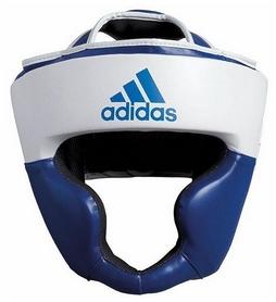 Шлем боксерский  Adidas Response, бело-синий (Adi-Res-WBL)
