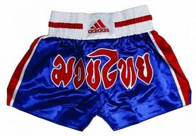Шорты для тайского бокса Adidas (Adi-ThaiShorts-BLR)