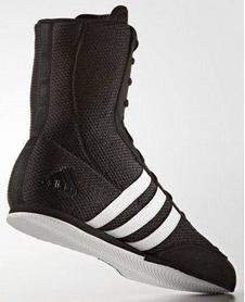 Боксерки Adidas Box Hog 2 (Adi-BH2-BLKW) - Фото №3