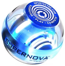 Тренажер кистевой Powerball Supernova Classic, голубой (5060109201147)