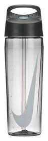 Бутылка спортивная Nike TR Hypercharge Straw Bottle - серая, 700 мл (N.OB.E3.032.24-)
