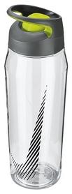 Бутылка спортивная Nike TR Hypercharge Rocker Bottle - серо-зеленая, 946 мл (N.OB.E5.959.32-)