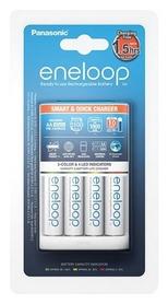 Устройство зарядное Panasonic Smart-Quick Charger+Eneloop 4AA 1900 mAh NI-MH (K-KJ55MCC40E)