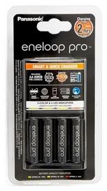 Устройство зарядное Panasonic Smart-Quick Charger+Eneloop Pro 4AA 2500 mAh NI-MH (K-KJ55HCD40E)