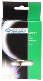 Набор мячей для настольного тенниса Donic Elite 1* - белые, 6 шт (4000885801606)