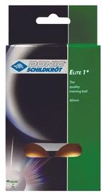 Набор мячей для настольного тенниса Donic Elite 1* - оранжевые, 6 шт (4000885801705)
