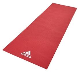 Коврик для йоги (йога-мат) Adidas - красный, 4 мм (ADYG-10400RD)