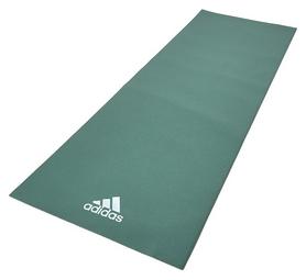 Коврик для йоги (йога-мат) Adidas - зеленый, 4 мм (ADYG-10400RG)