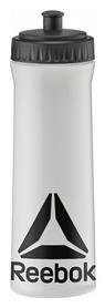 Бутылка для воды Reebok - белая, 0,75л (RABT-11005CLBK )